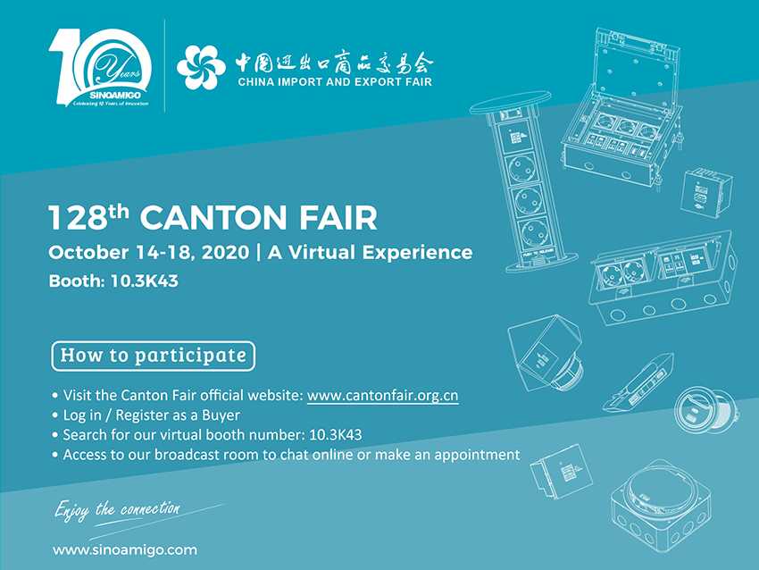 Join us live at the 128th Canton Fair Online event