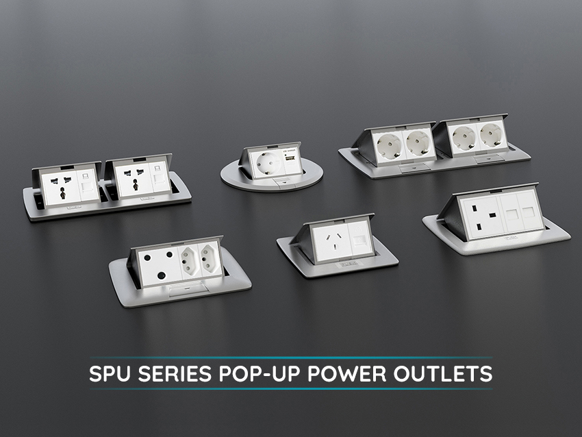 SPU series pop-up power outlets